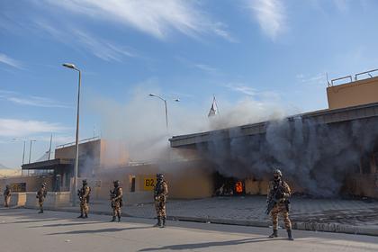 Раскрыты подробности атаки на американское посольство в Багдаде