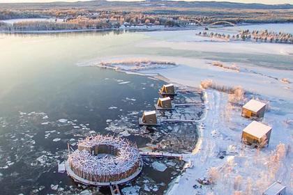 В Швеции предложили пожить в плавучем «гнезде»