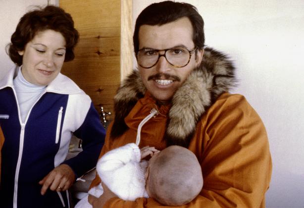 Эмилио Маркос Пальма и его родители