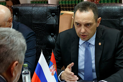 Сербия встала на защиту дружбы с Россией