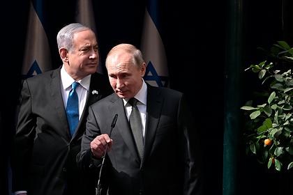 Нетаньяху лично расскажет Путину о «сделке века»
