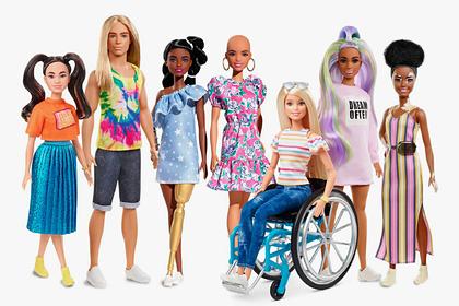 В продаже появились лысые куклы «Барби» с болезнями