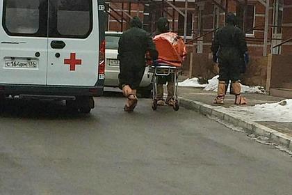 Госпитализация россиян с подозрением на коронавирус попала на видео