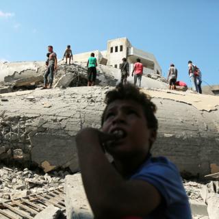 Палестинцы в Секторе Газа