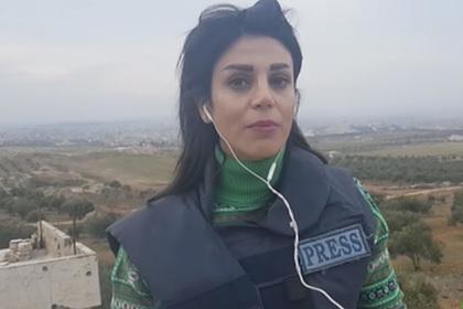 Журналистка RT получила серьезное ранение при взрыве снаряда