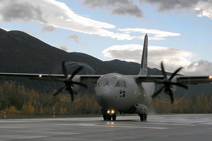 Американский военный самолет разбился в Ираке