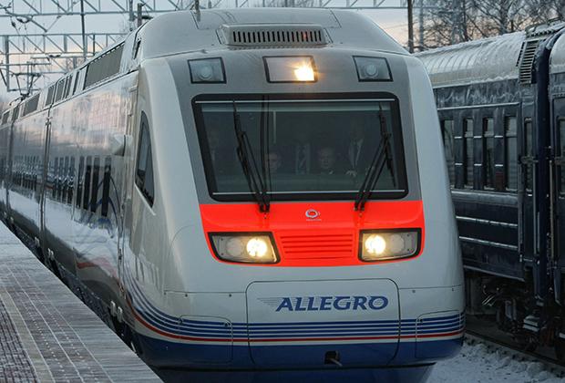 Поезд «Аллегро» Санкт-Петербург — Хельсинки