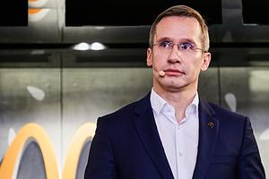 Генеральный директор «Макдоналдс» в России Марк Карена