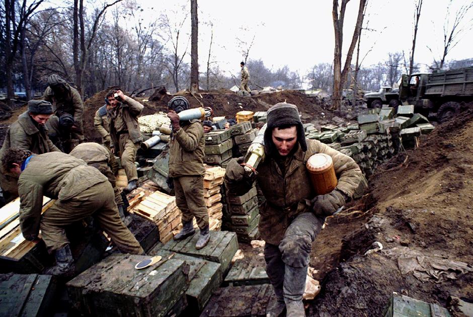 Грозный, 2 февраля 1996 года