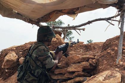 Сирийские военные уничтожили 30 танков и БМП боевиков