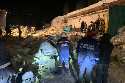 Названы версии обрушения кафе в российском городе