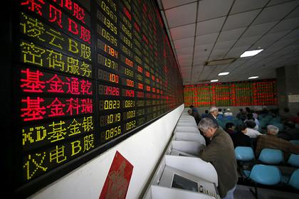 Китайские биржи обвалились на фоне вспышки коронавируса