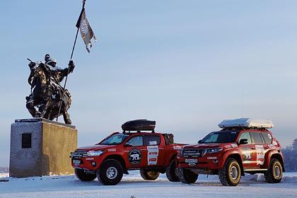 Российские путешественники доедут на машинах из Арктики в Португалию