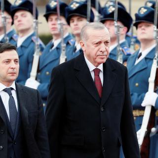 Владимир Зеленский и Реджеп Эрдоган