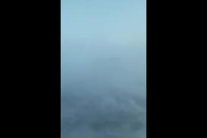 Сильная метель в Норильске попала на видео