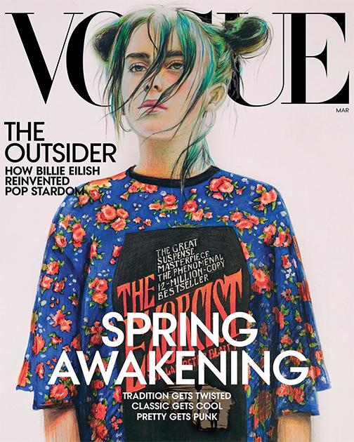 Жительница Пермского края стала самым юным автором обложки журнала Vogue