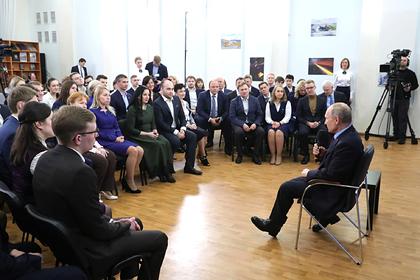 Слова Путина про ПООПы рассмешили общественников в Череповце