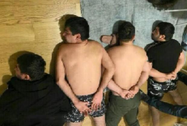 Предполагаемые киллеры из группировки Квежовича после задержания