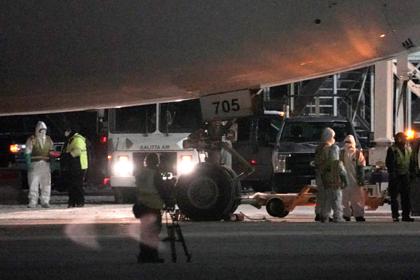Первый самолет с эвакуированными россиянами вылетел из китайского Уханя