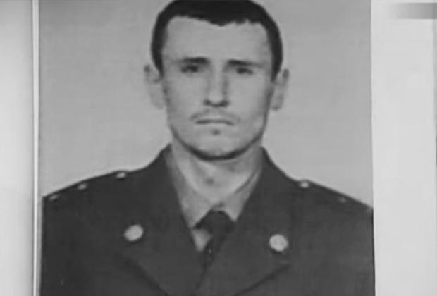 Александр Геращенко во время армейской службы