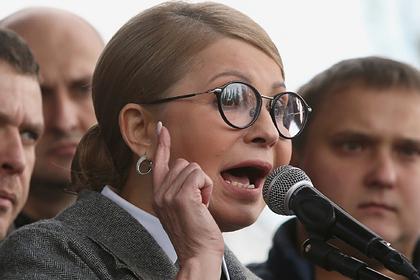 Тимошенко повредила палец во время потасовки в Раде