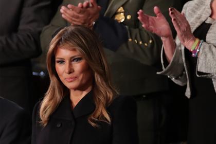 В наряде Мелании Трамп углядели неуважение к женщинам