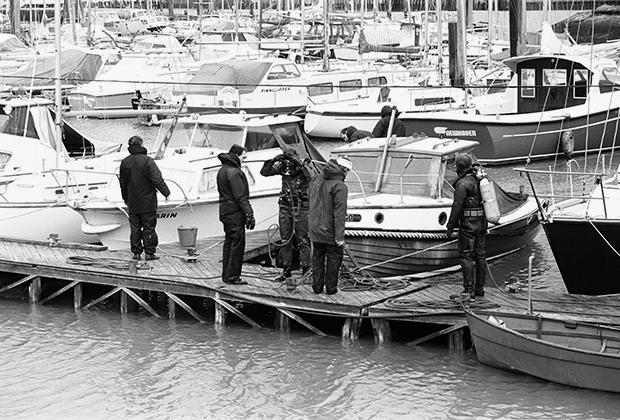 Поиски Джона Бингэма на берегу Ла-Манша. 27 ноября 1974 года