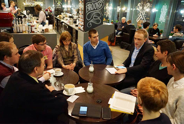 Курсы белорусского языка за чашкой кофе