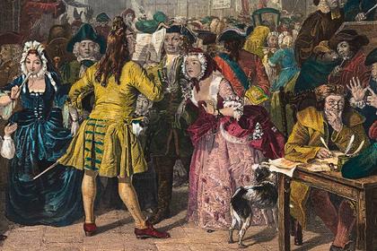Как Исаак Ньютон, король и тысячи англичан потеряли деньги в финансовой пирамиде
