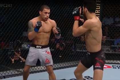 Боец UFC нокаутировал соперника за 38 секунд