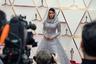 Несколько модных изданий уже признали образ Жанель Монэ одним из самых удачных на премии «Оскар» 2020 года. Блистающая во всех смыслах певица появилась на ковровой дорожке в серебристом полупрозрачном платье с капюшоном, украшенном многочисленными камнями. Наряд диснеевской принцессы для Монэ создал американский модный бренд Ralph Lauren. Певица дополнила платье бриллиантовым колье Forevermark.