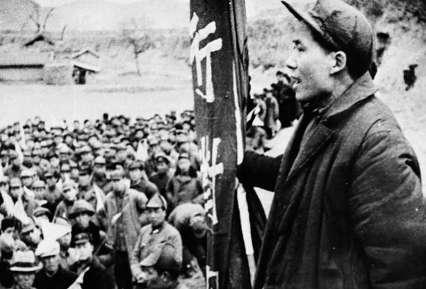Мао Цзэдун в 1944 году