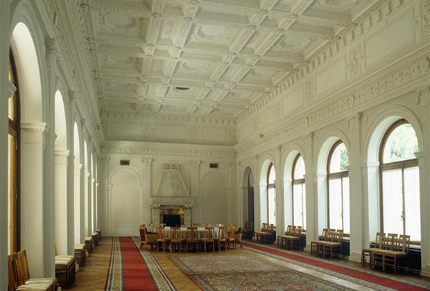 Большой Ливадийский дворец — место проведения Ялтинской конференции в феврале 1945 года