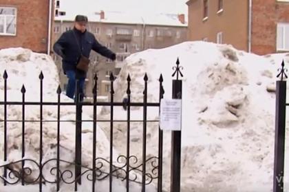 В России соседи начали войну из-за общей калитки