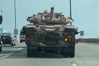 Т-90 заметили в США