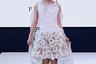 «Наша миссия — вдохновлять и поощрять талантливых дизайнеров по всему миру ради преобразования устаревшей фэшн-индустрии»,— утверждает руководство модной площадки hiTechMODA. Этот наряд как нельзя лучше демонстрирует концепцию: девушка вышла на подиум в коротком меховом платье с длинным шлейфом в виде книжной страницы. Вся одежда, включая папаху, изготовлена из модного искусственного меха.