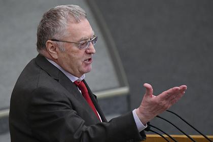 Жириновский предложил создать в России министерство жилья