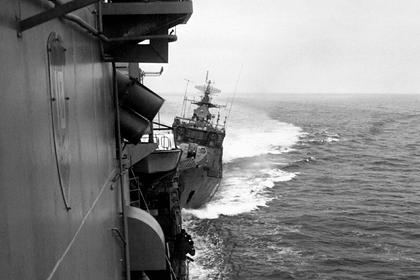 В шаге от войны: как 32 года назад советский корабль протаранил американский крейсер у берегов Крыма