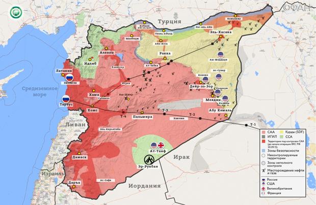 Карта боевых действий в Идлибе (актуальна на конец января 2020-го)