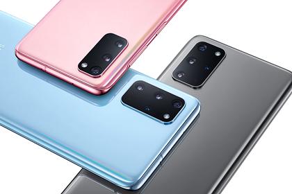 Samsung представила Galaxy S20 со стократным зумом