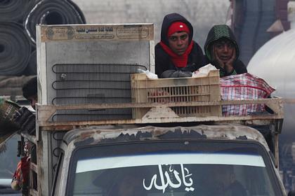 Россия и Сирия предупредили о гуманитарной катастрофе в Идлибе