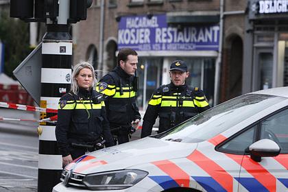 В офисе почтовой компании в Амстердаме прогремели взрывы