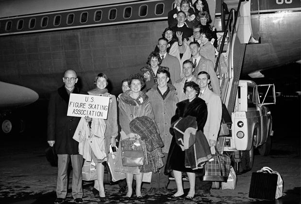 Сборная США по фигурному катанию 1961 года