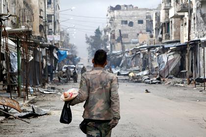 Оценены потери воюющих в Сирии сторон