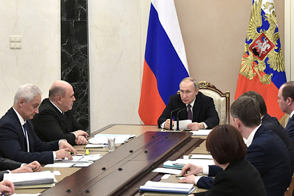 Путин назвал основную задачу в экономике