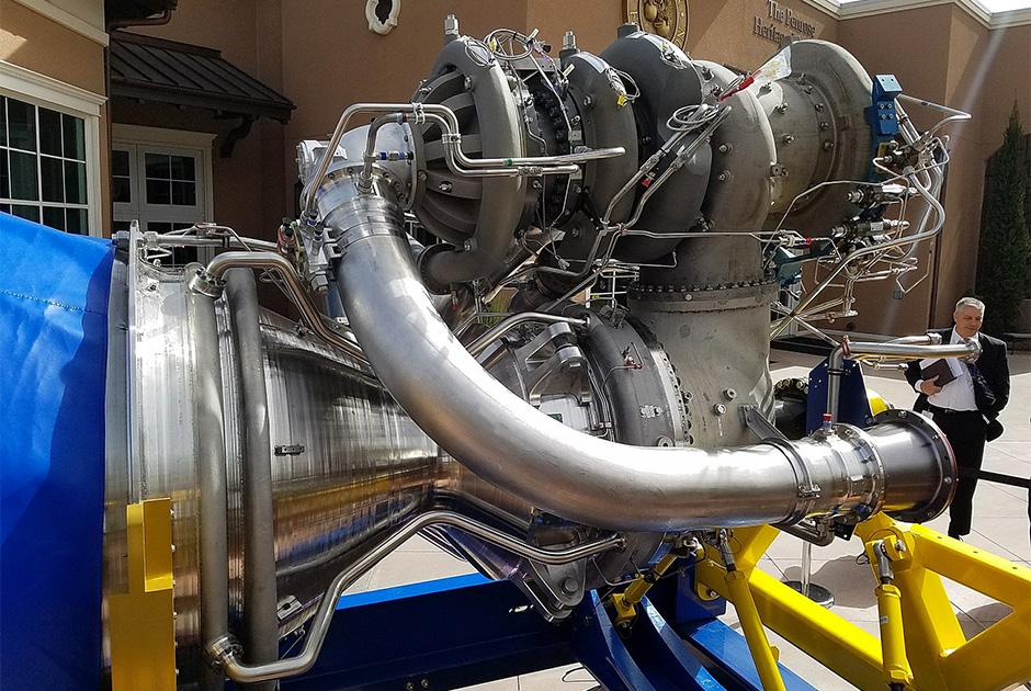 Двигатель BE-4