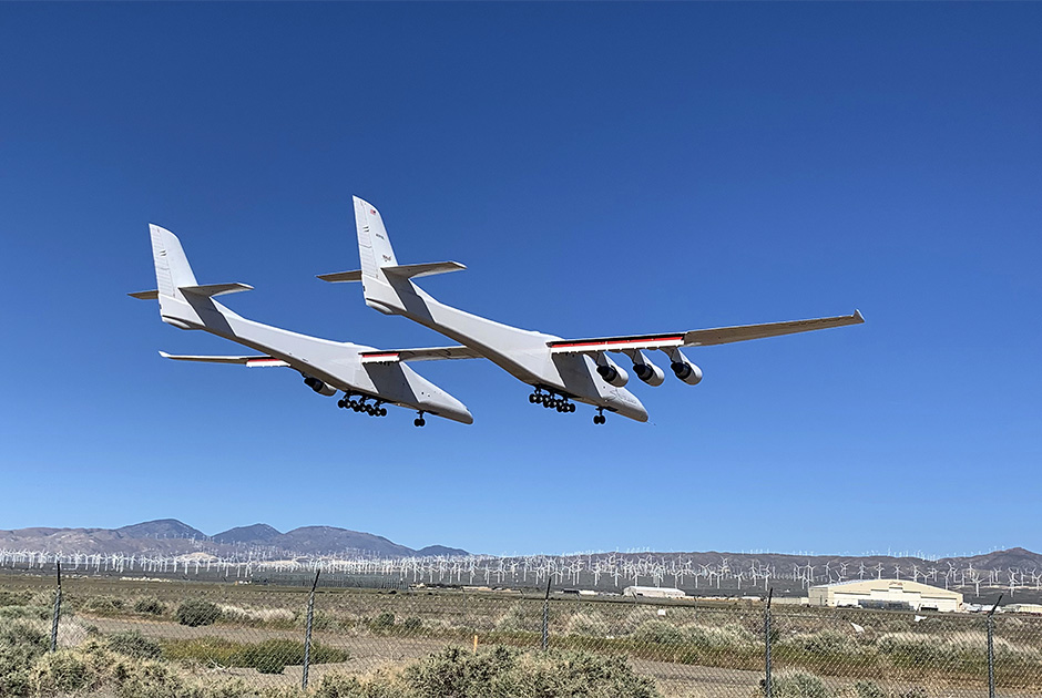Самолет Stratolaunch