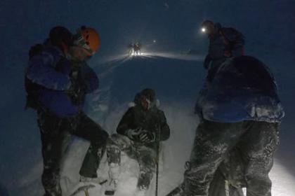 Заблудившиеся в горах туристы выжили благодаря мобильному приложению