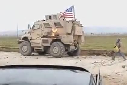 Конфликт с участием солдат армии США в Сирии попал на видео