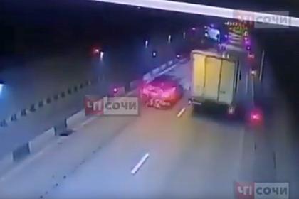 Смертельная авария в российском городе попала на видео